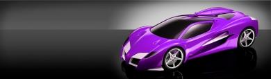 purple-ferrari-f450-sports-Car-on-grey-background-header