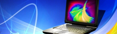 business-laptop-computer-on-blue-background-header