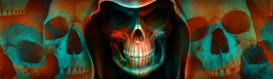 halloween-artistic-teal-red-horror-evil-skulls-web-header